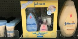 New $3/1 Johnson's Baby Bath Discovery Gift Set Coupon + Deals at Target & Walmart