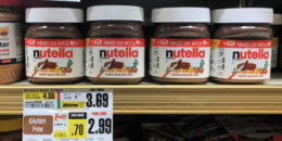 Nutella Hazelnut Spread Just  $1.49 at ShopRite!