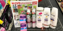 Pantene, Herbal Essences Hair Care and Always Liners as Low as FREE at CVS! {Rebate}