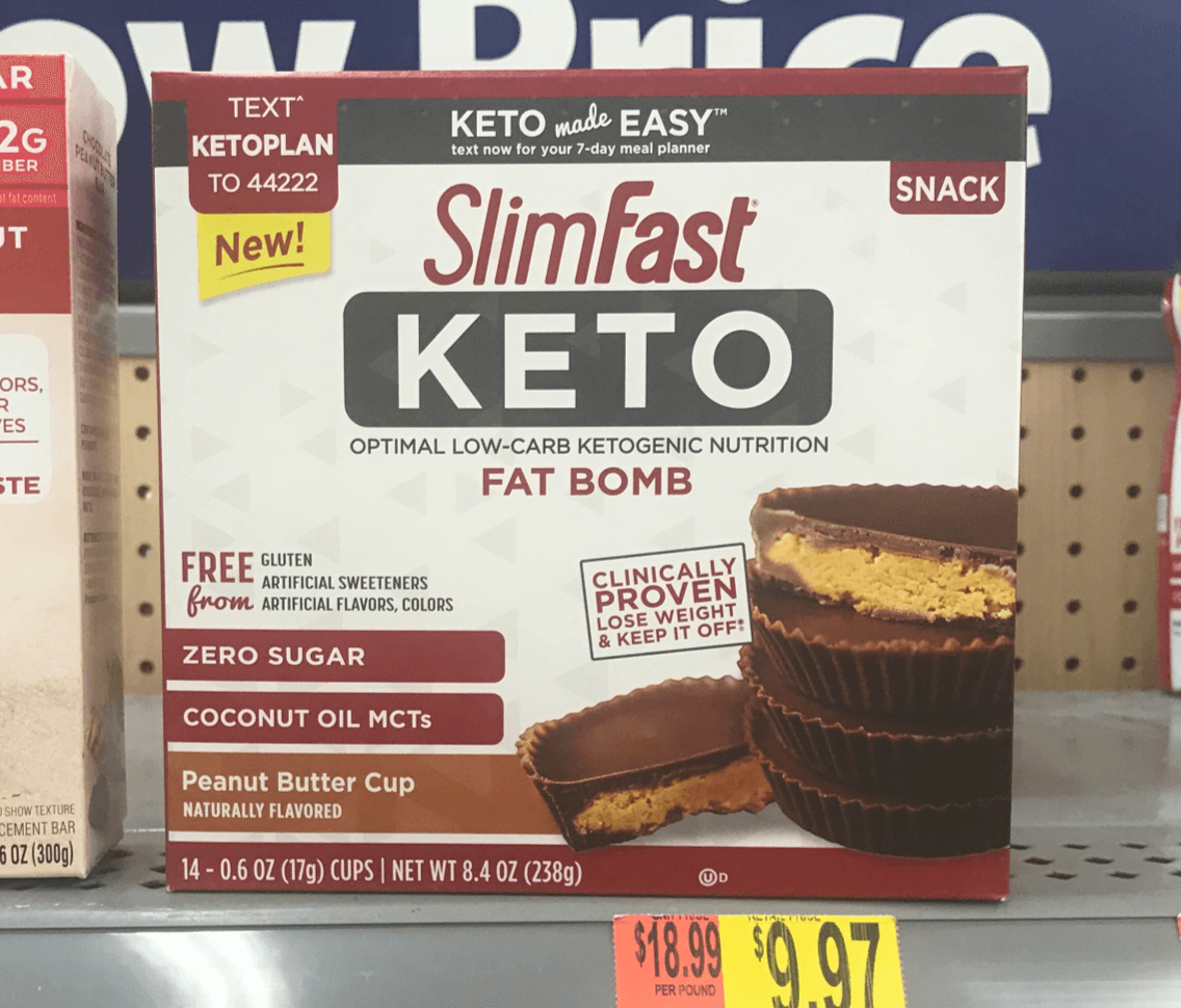 New $3/2 SlimFast Keto Products Coupon & Walmart Deals