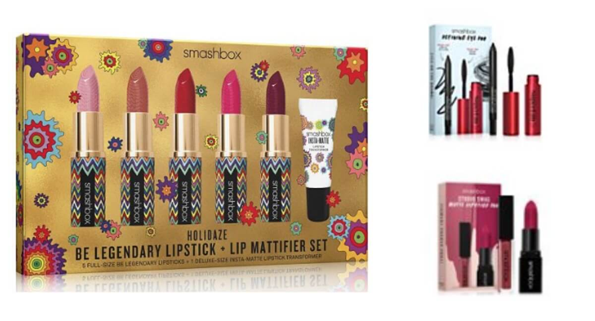 Smashbox 6pc Lipstick Gift Set Only 20 116 Value FREE Packs