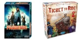 Catan $44, 7 Wonders $45, Pandemic $36, & More + $20 Walmart eGC