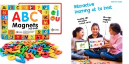 Pixel Premium ABC Magnets for Kids Gift Set - 142 Magnetic Letters $15.99 (Reg. $34.99)