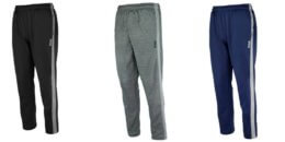 Reebok Men's Tech Side Panel Fleece Pants $9.99 (Reg. $45) + Free Shipping!