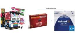 Cards Against Humanity + $10 eGC $25, Exploding Kittens Game + $10 eGC $20 & More
