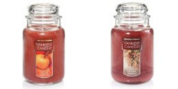 Yankee Candle Large Jar Candle $10.99 Each + Free Shipping {Select Fall Scents}