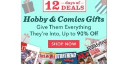 Hobby & Comics Magazine Deal