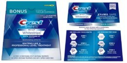 Crest 3D White Professional Effects Whitestrips Whitening Strips Kit $14.99 (Reg. $68)