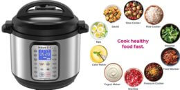 Instant Pot DUO Plus 8 Qt 9-in-1 Multi- Use Programmable Pressure Cooker $89.95 (Reg. $159.95)