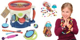 Save up to 63% Off Toys from Battat, Play Circle & Bristle Blocks