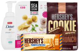 Today's Top New Coupons - Save on Dove, Sea Cuisine & Hershey's
