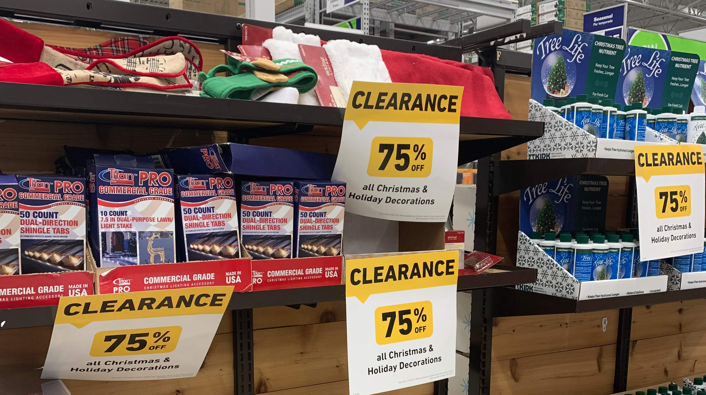 Lowes After Christmas Clearance 2018 –