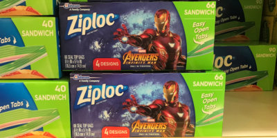 Ziploc Holiday Edition Bags & Containers Deals as Low as $0.34 at ShopRite!