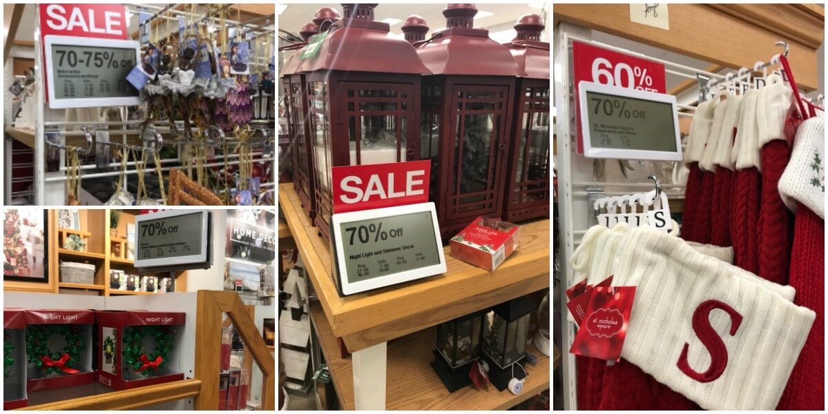 Up to 75% off Christmas Clearance at Kohls!