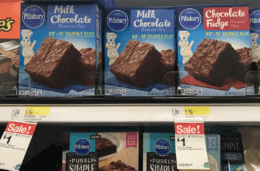 Target Shoppers - $0.75 Pillsbury Brownie Mixes!