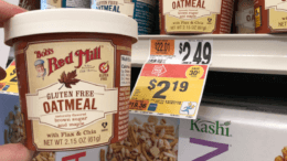 Bob's Red Mill only $1 per cup at Stop & Shop