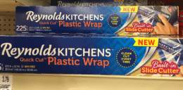 Reynolds Kitchens Quick Cut Plastic Wrap Just $1.00 at Acme! {Rebate}