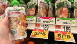 Sprout Baby Food Pouches just $0.63 at Stop & Shop!