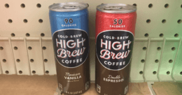 FREE High Brew Cold Brew Coffee For Kroger Shoppers!