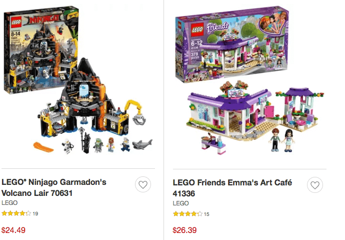 Target Lego Select Sets Up To 55 Off Free Shipping Batman