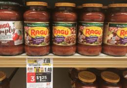 ShopRite Shoppers - $0.58 Ragu Pasta Sauce!