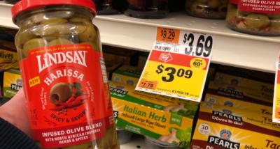 Lindsay Infused Olive Blends only $0.09 at Stop & Shop {Rebate}