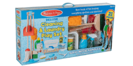 Melissa & Doug Deluxe Cleaning & Laundry Play Set Just $19.99 at Target! {Reg. $79.99}