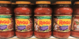 New $1/2 RAGÚ Pasta Sauces Coupon - $1 at Dollar General & More!