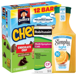 Today's Top New Coupons - Save on Simply Light, Quaker, Schwarzkopf & More