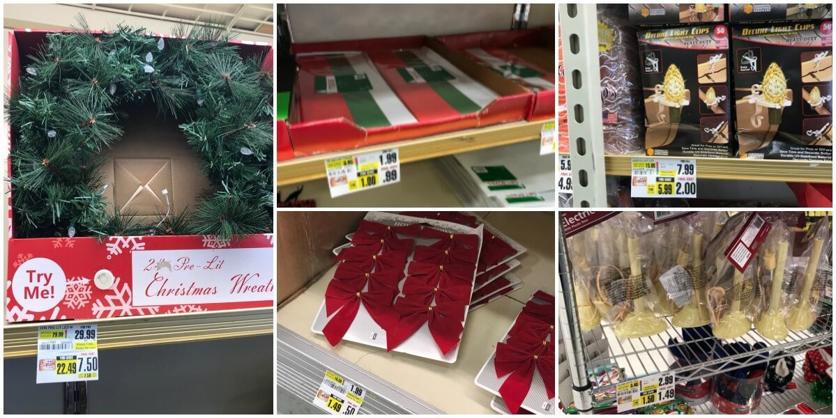 up to 75% off Christmas Clearance at ShopRite