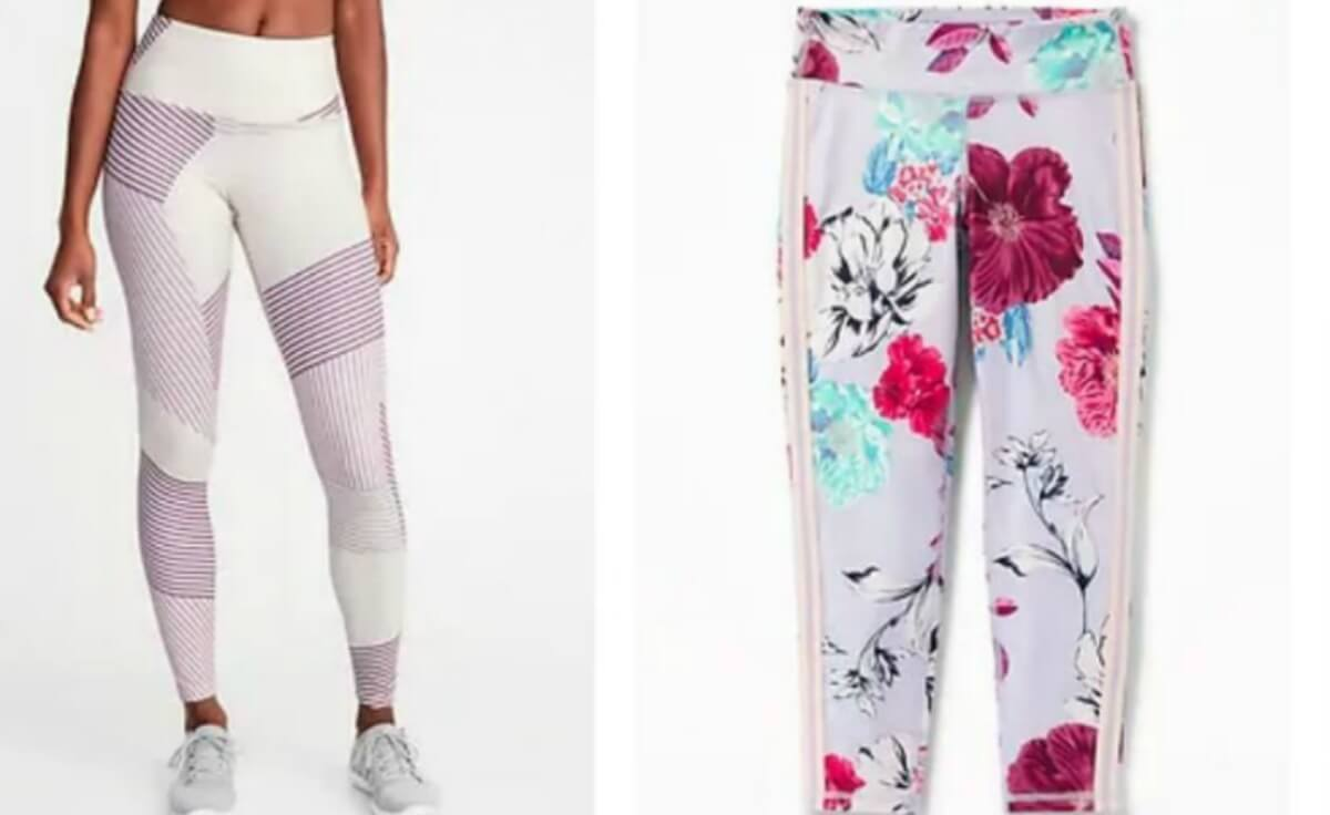 20c335263ada8 Old Navy Active Compression Leggings or Pants $10-$12 Today Only ...