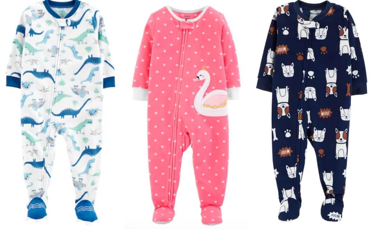 Carter S Baby Or Toddler Footed Pajamas 3 85 Pair Free Shipping
