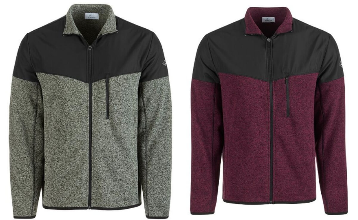 0676e0d93883 Attack Life by Greg Norman Men's Sweater Fleece Jacket $13.06 (Reg. $75)
