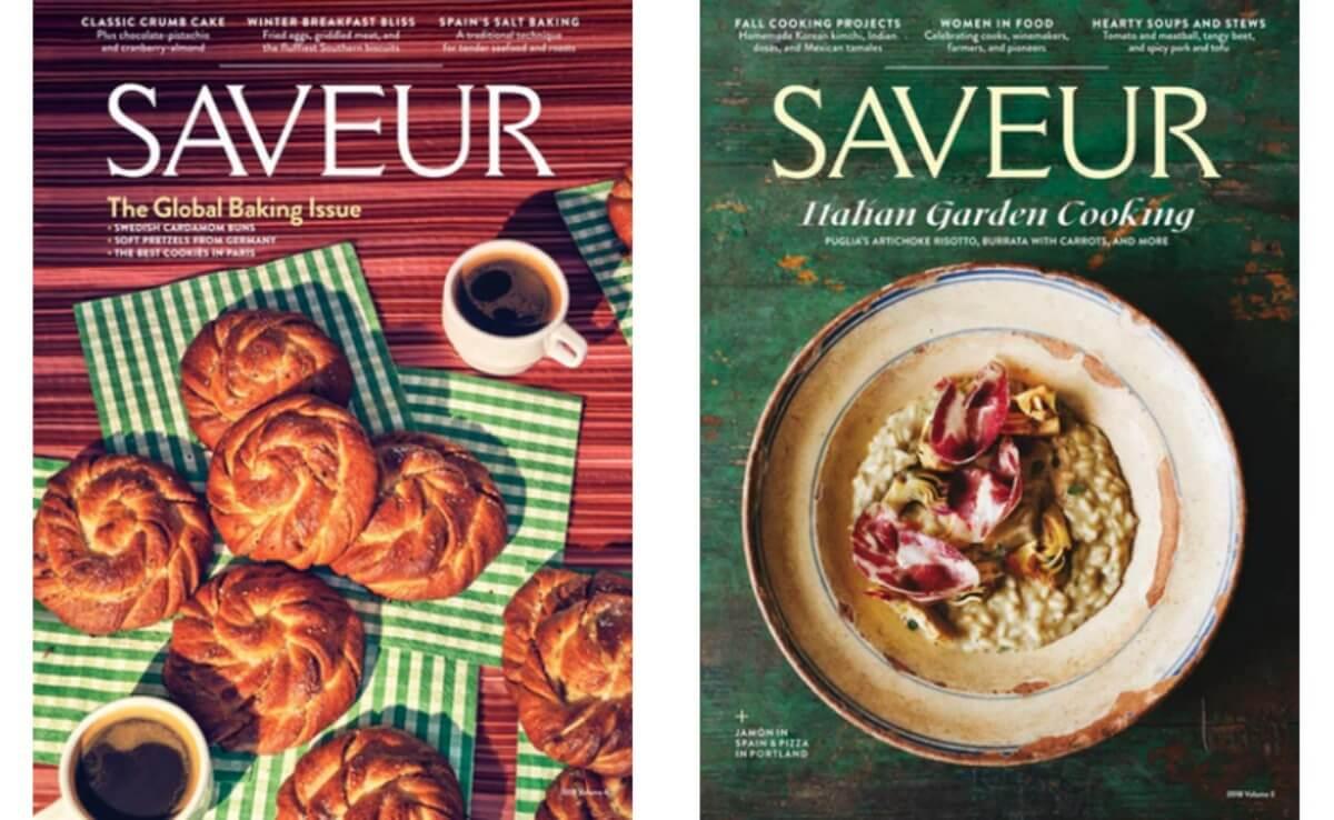 Saveur Magazine Deal 2019
