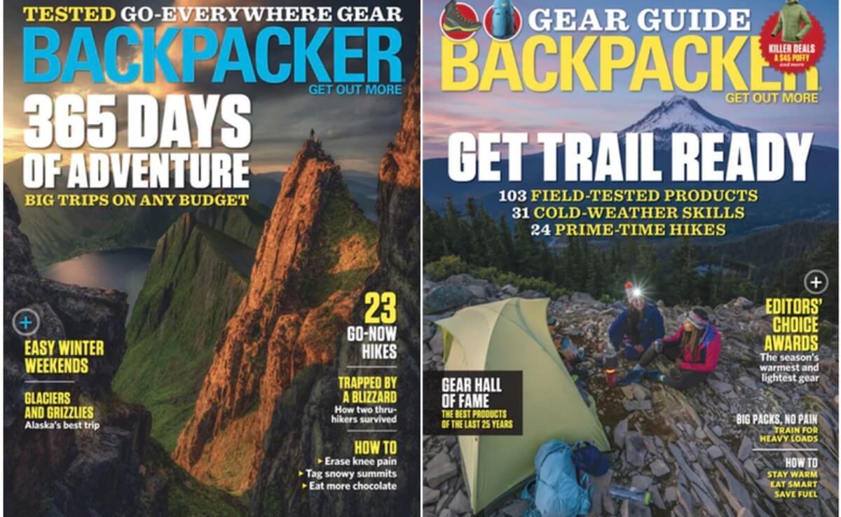 Backpacker Magazine Coupon January 2019