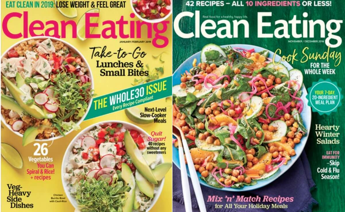 Clean Eating Magazine Deal 2019