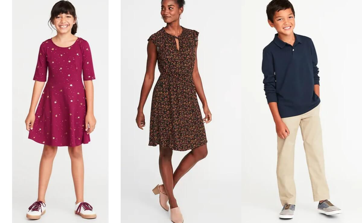 1c413ee6d915d Old Navy Extra 40% Off Clearance - Girl s   Women s Dresses and ...