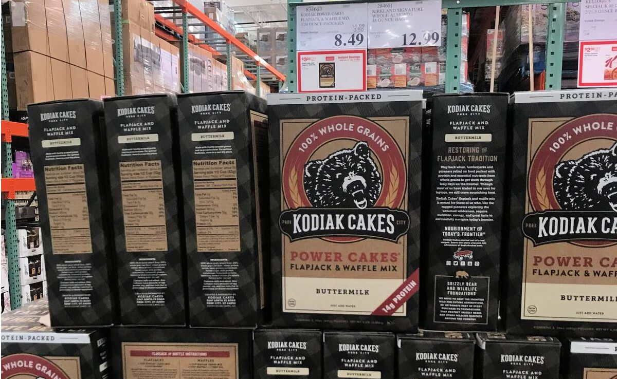 Texas Calculator Online >> Costco: Hot Deal on Kodiak Power Cakes Mix, 72 oz.Living Rich With Coupons®