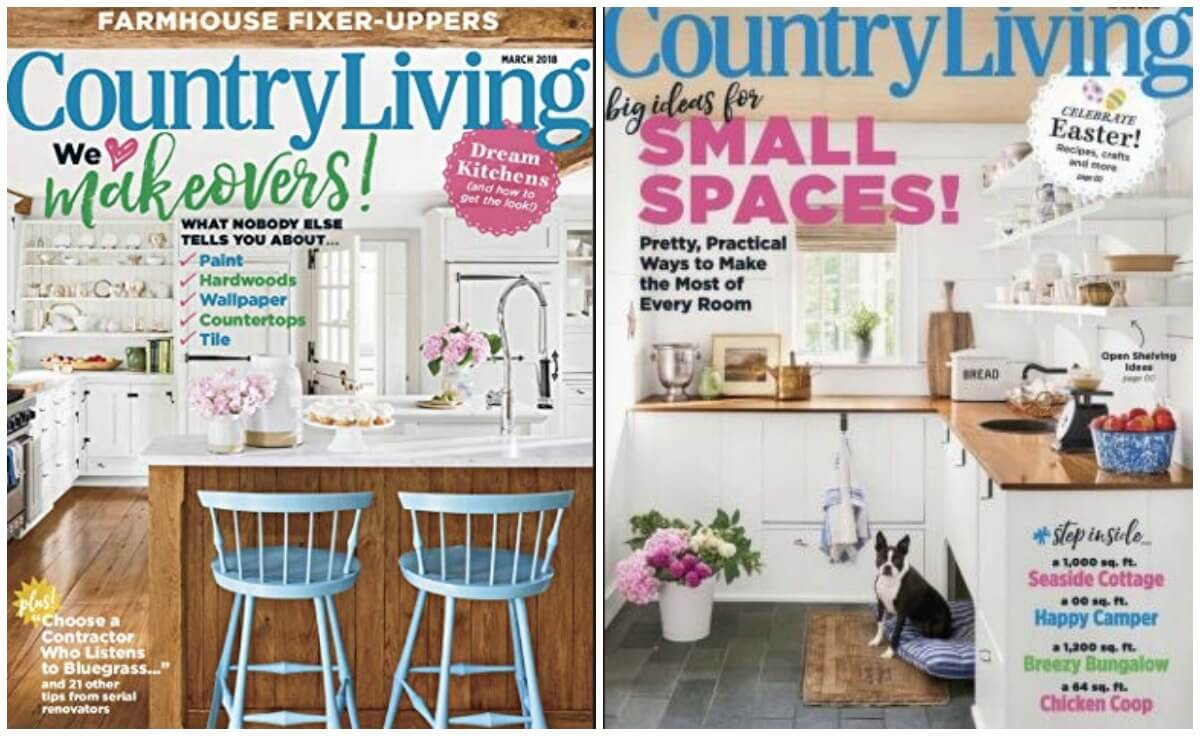 Country Living Magazine Deal January 2019