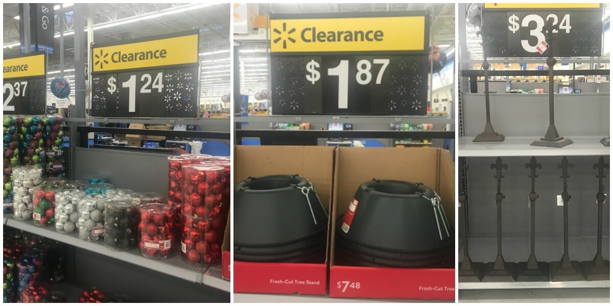 Walmart After Christmas Clearance 2018
