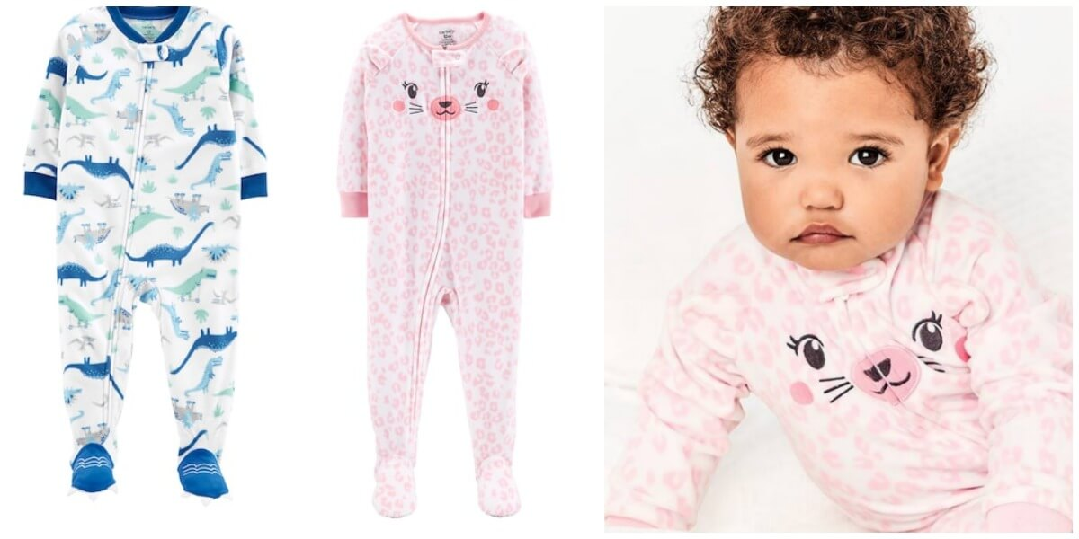 a93eec5e0 Carter's Baby or Toddler Footed Pajamas $3.85/Pair + Free Shipping {Kohl's  Cardholders}