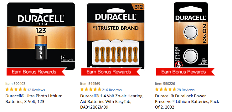Office Depot Max Free Duracell Coppertop Batteries After Rewards
