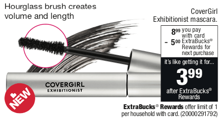 CoverGirl Mascara Coupons January 2019