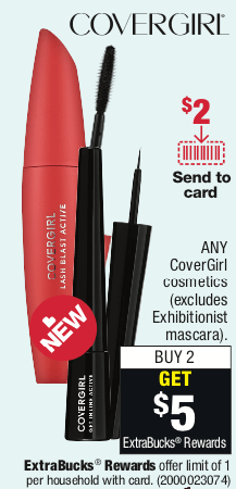 CoverGirl Coupon January 2019
