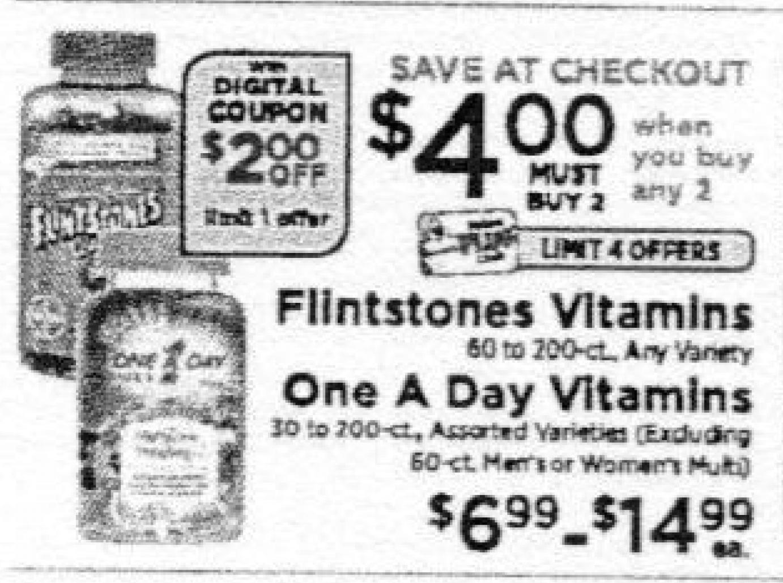 Flintstones Coupons January 2019
