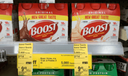 Walgreens Shoppers - Boost Nutritional Shakes Just $0.77 Per Drink!