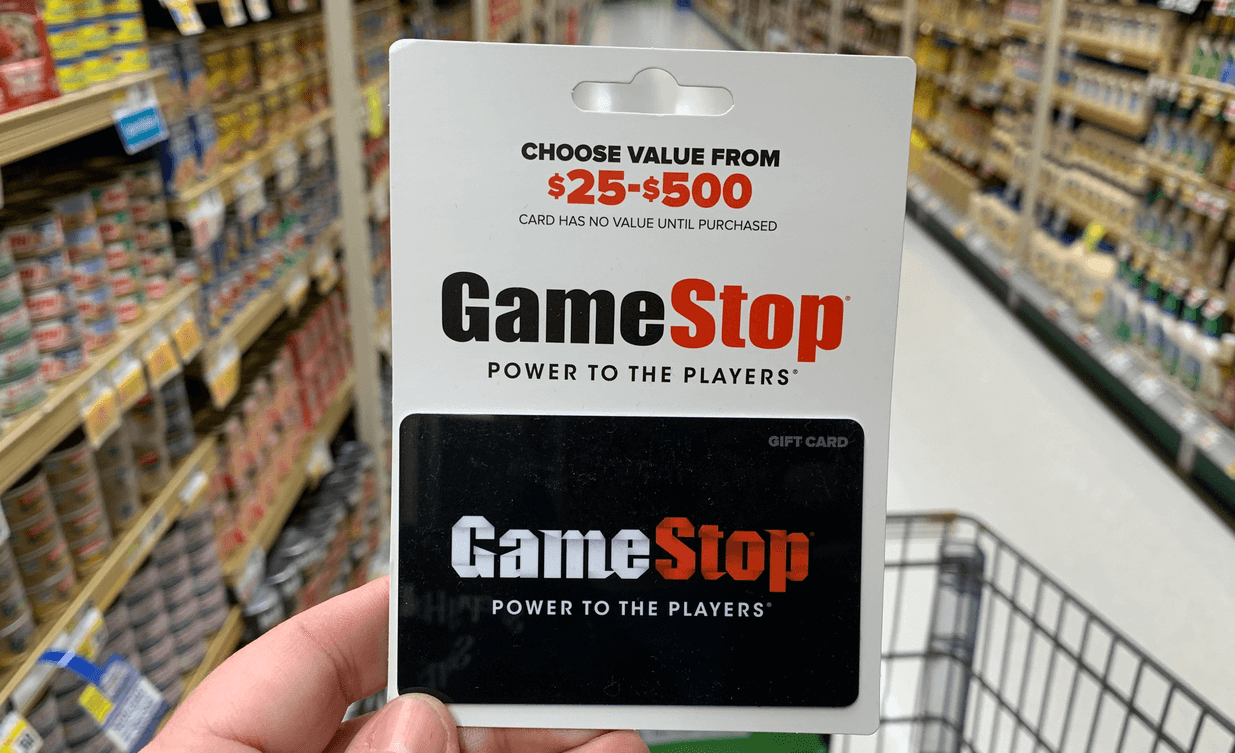 Game Stop Gift Card January 2019