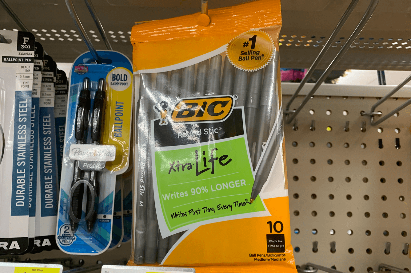 Bic Stationary Coupon January 2019
