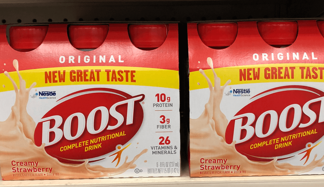 Boost Drink Coupons January 2019