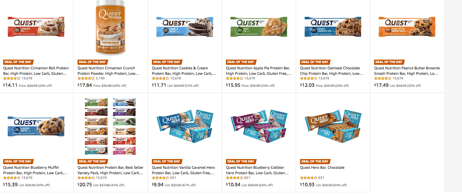 Quest Coupons January 2019